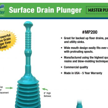 Master Plunger Flyer (MP1600 & MP200)